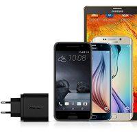 AUKEY-Quick-Charge-30-Cargador-de-Red-18W-Qualcomm-Certificado-para-iPhone-7-7-Plus-Samsung-Galaxy-Note-7-S6-Edge-Plus-Note-5-Note-4-Nexus-6-Samsung-con-Cable-Micro-USB-Negro-0-3