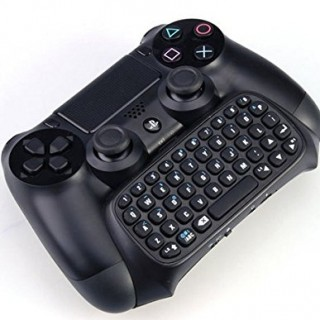 GAMINGER-Keyboard-for-PlayStation-4-Ps4-Controller-Dualshock-QWERTY-Layout-Mini-Bluetooth-Chatpad-0