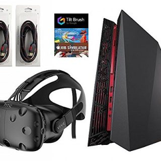HTC-Vive-5-Items-Bundle-HTC-Vive-Virtual-Reality-Headset-ASUS-G20CB-Desktop-Package-16GB-512GB-with-2-Mytrix-High-Quality-HDMI-Cable-and-3-GamesVersin-EEUU-importado-0-0