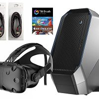 HTC-Vive-5-Items-Bundle-HTC-Vive-Virtual-Reality-Headset-Alienware-Area-51-Series-Desktop-Package-16GB-2TB-128SSD-Bundle-with-2-Mytrix-High-Quality-HDMI-Cable-and-3-GamVersin-EEUU-importado-0-0