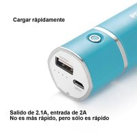 Poweradd-Slim-2-5000mAh-Cargador-Mvil-Porttil-Batera-Power-Bank-para-Iphones-Smartphones-de-Android-Reproductor-de-MP3-Cmaras-Digitales-y-Ms-0-3