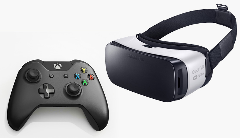 El Mando bluetooth de Xbox One será compatible con Samsung Gear VR