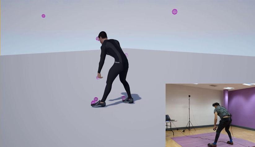 IKinema presenta un sistema de control de movimientos de cuerpo entero para HTC VIVE