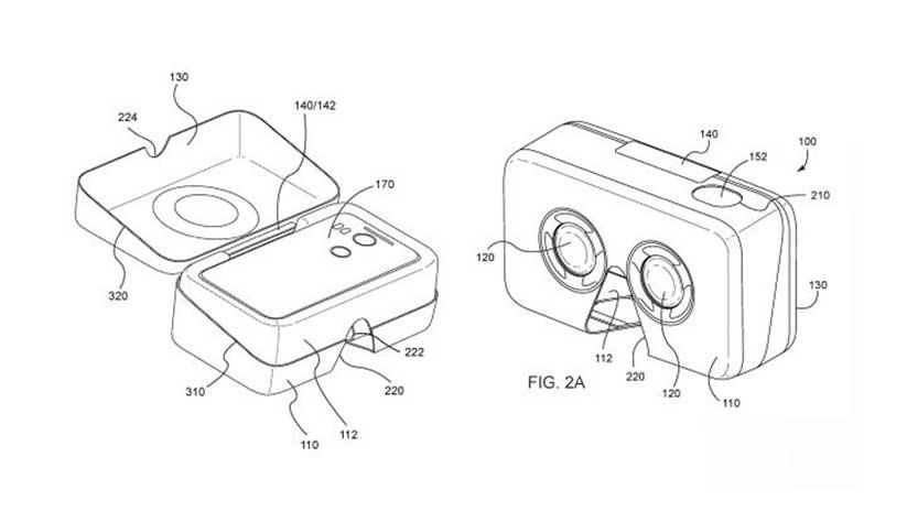 La patente de Google en la que el packaging funciona como unas gafas de realidad virtual
