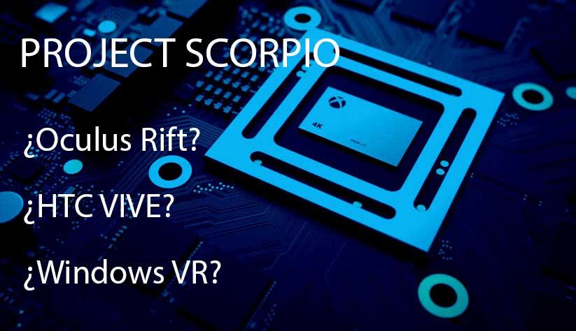¿Qué gafas de realidad virtual soportará Scorpio?