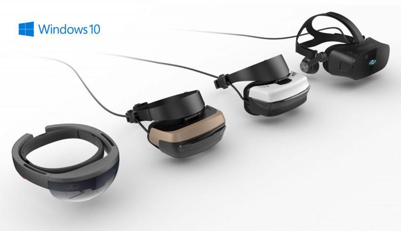 Windows Creator's Update dará soporte a una amplia gama de gafas VR