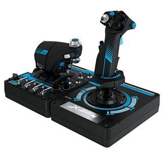 Logitech-G-Saitek-Pro-Flight-X56-Rhino-Sistema-de-control-para-simuladores-color-negro-0